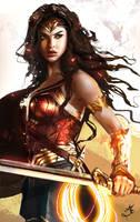 Wonder Woman 2017 [digital painting] by Majdish