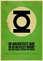 Green Lantern: In brightest day in blackest night by ItomiBhaa