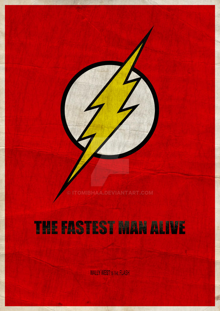 Flash: The fastest man alive by ItomiBhaa