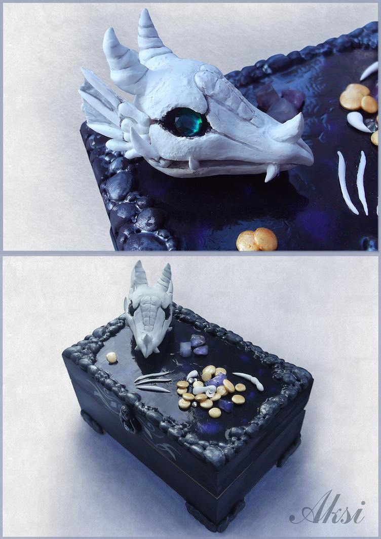Jewelry box: Dragon Treasure by Akseovin