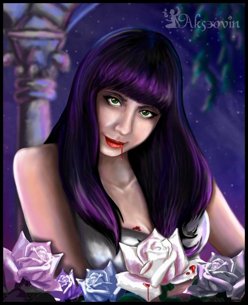 Vampire night by Akseovin