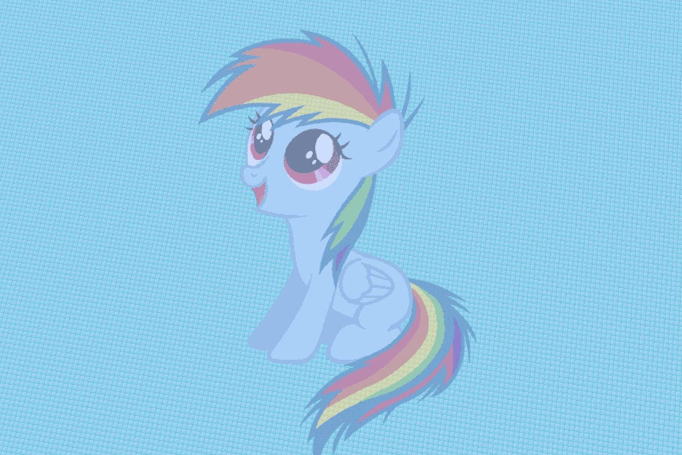 Rainbow Dash Young My little pony rainbow dash