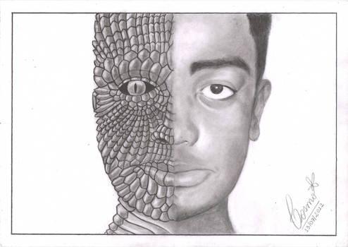 My reptilian friend