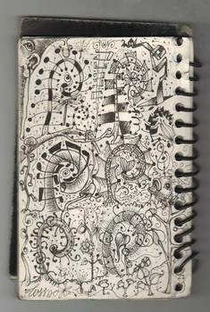 Odd Ferns n Savage Doodles