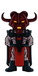 Chibi villains: Zygon by Marvilius