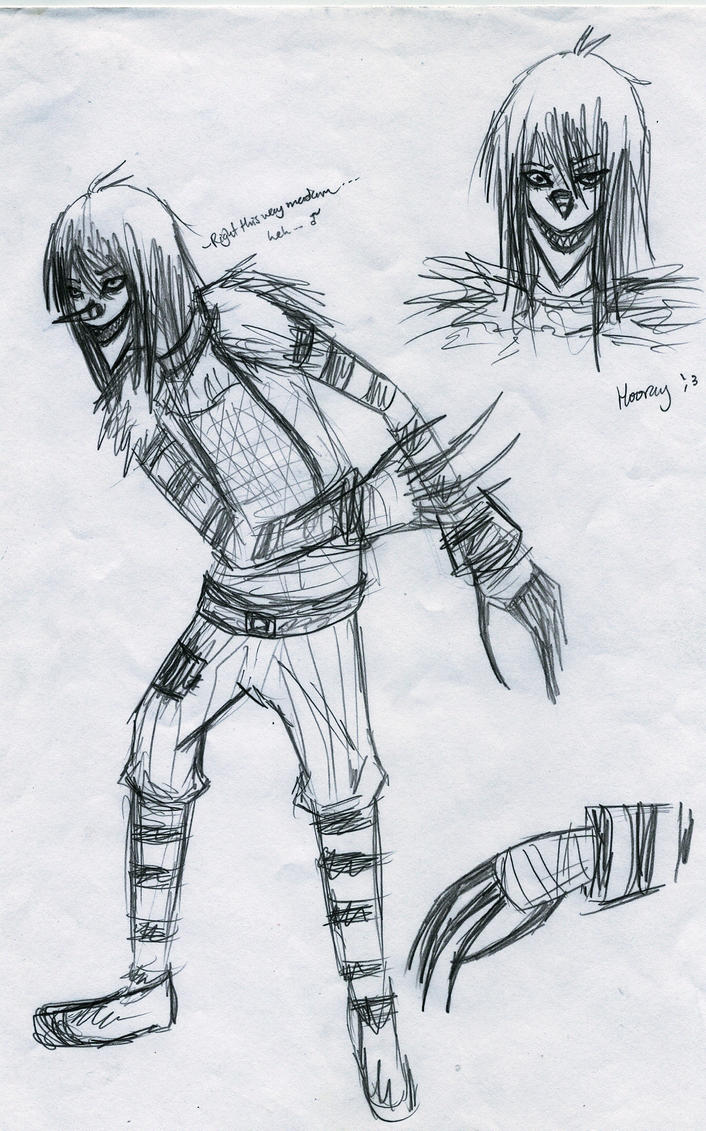 Laughing Jack Sketches by R-C-S on DeviantArt