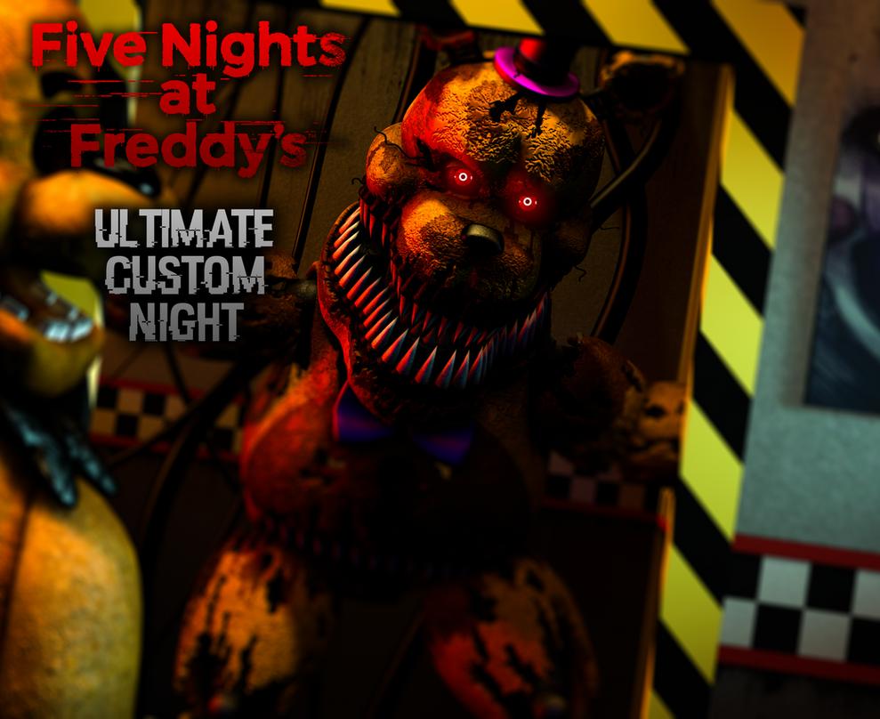 Resultado De Imagem Para Fnaf 6 Ultimate Custom Night