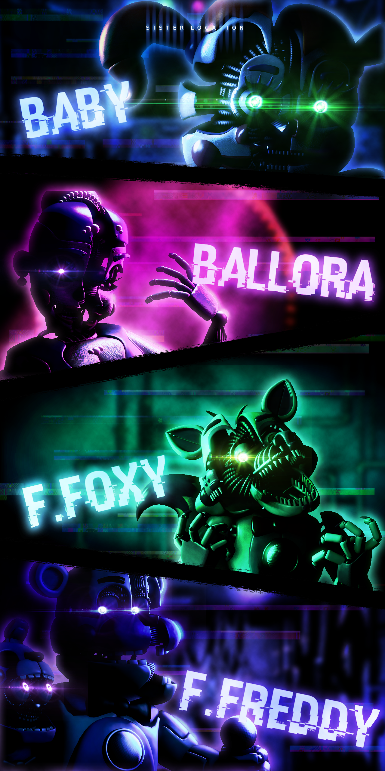 Fnaf Sfm Sister Location Wallpaper By Aftonproduction On Deviantart