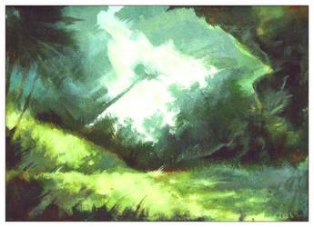 Forest Scene by kalamu