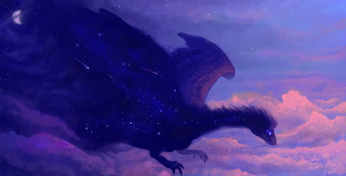 The Night Bringer II by kalamu
