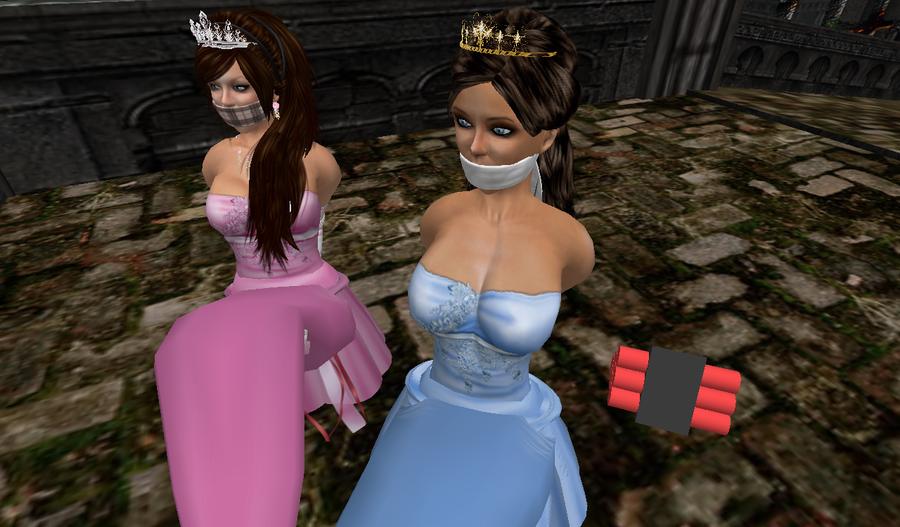 Fnaf Kidnapped Princess Deviantart: Princesses In Trouble By Ddrplayax On DeviantArt