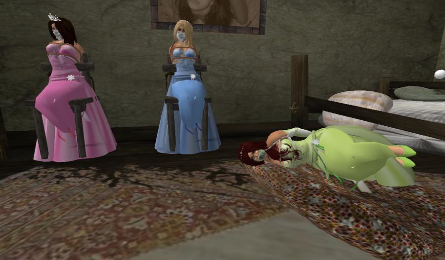 Fnaf Kidnapped Princess Deviantart: Triplet Princesses Kidnapped. By Ddrplayax On DeviantArt