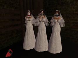Wedding day peril by ddrplayax