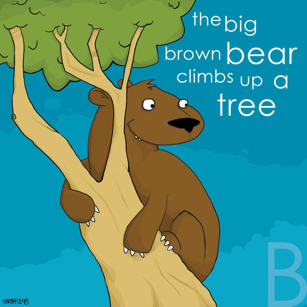 the big brown bear by striffle
