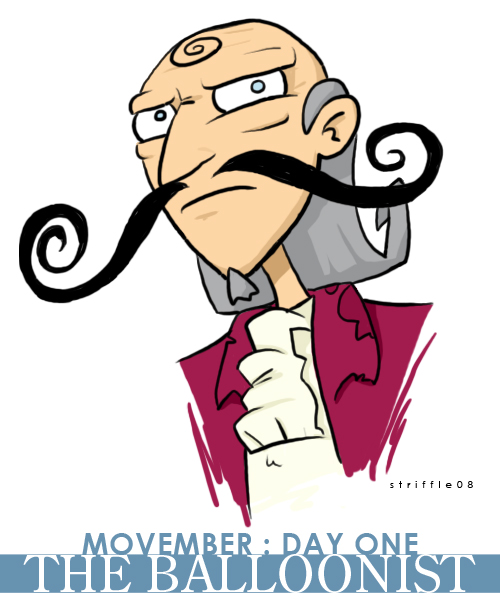 movember 01 by striffle