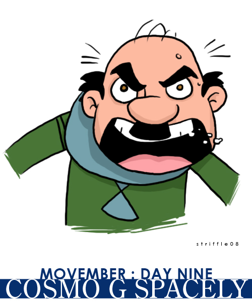 movember 09 by striffle
