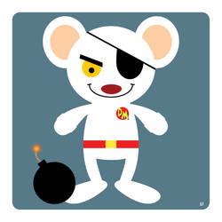 dangermouse by striffle