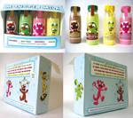 Monster Milk package design