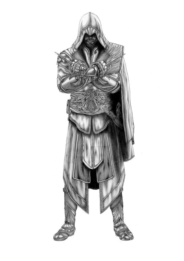Ezio Auditore Da Firenze by ARASH-THE-FIST