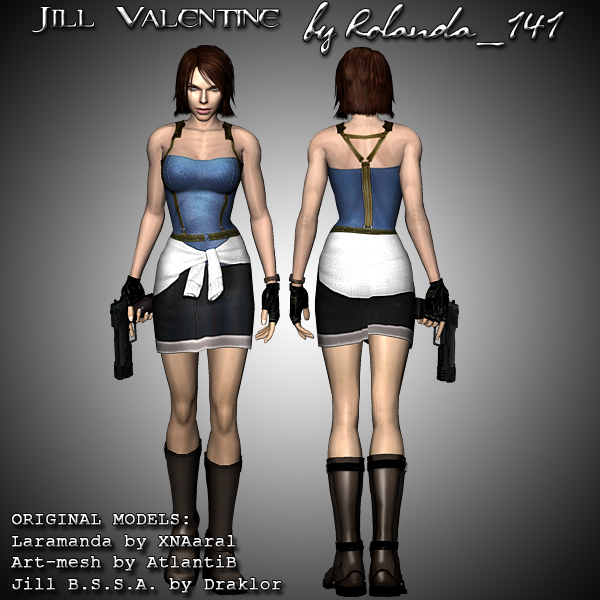 Jill Valentine (Resident Evil 3) Jill_valentine_mod_by_hailsatana-d2z922o