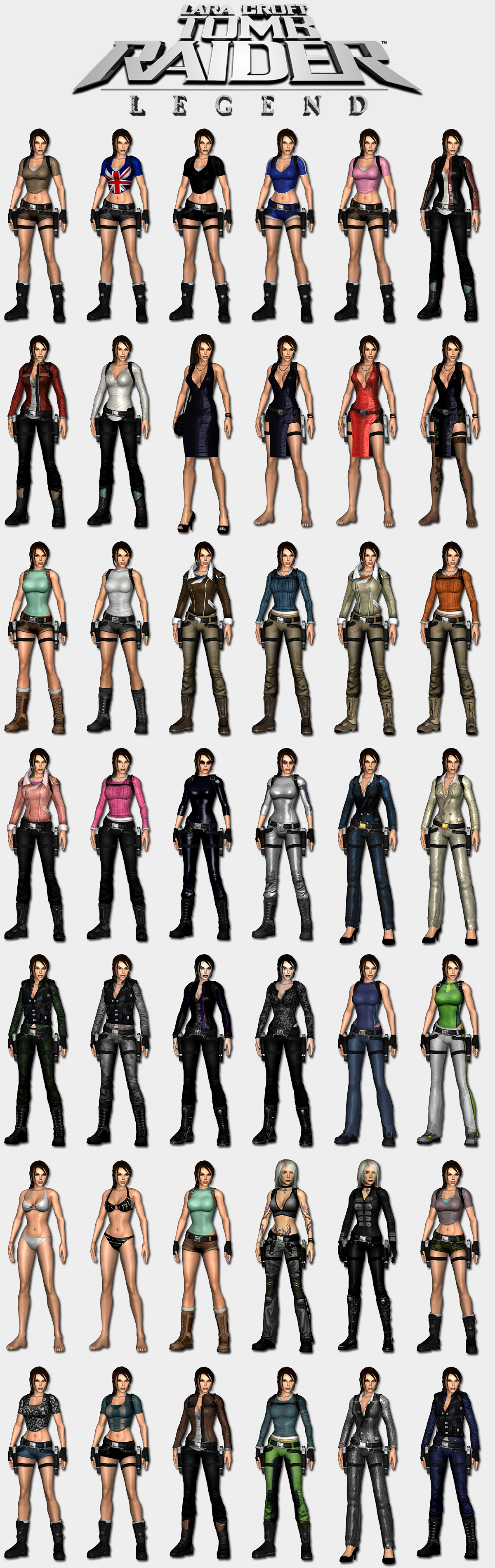 Tomb raider legend outfits xxx erotic movies