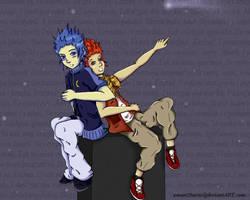 :KH: Lea+Isa -Erased- by xment2bursx