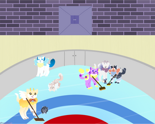 Curling Kittens by 4sparkles