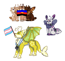 Late Pridecats - MC PC by 4sparkles