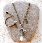 Industrial Seamstress Jewelry Set