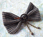 SOLD: Steampunk Hair Bow/Bow Tie