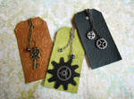 New Leather Bookmarks