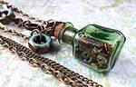 Steampunk Tinker Jewelry Set