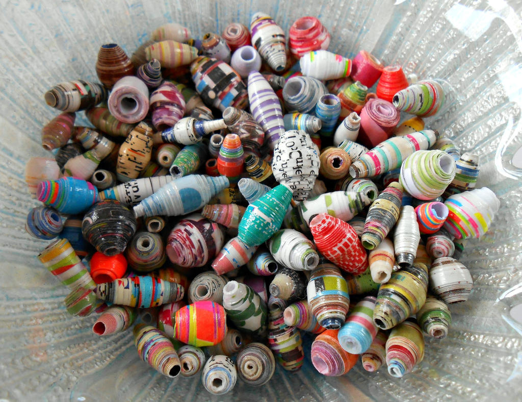 Paper Beads 1 by random-wish