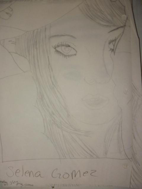 selena gomez by DrawingIsPassion123