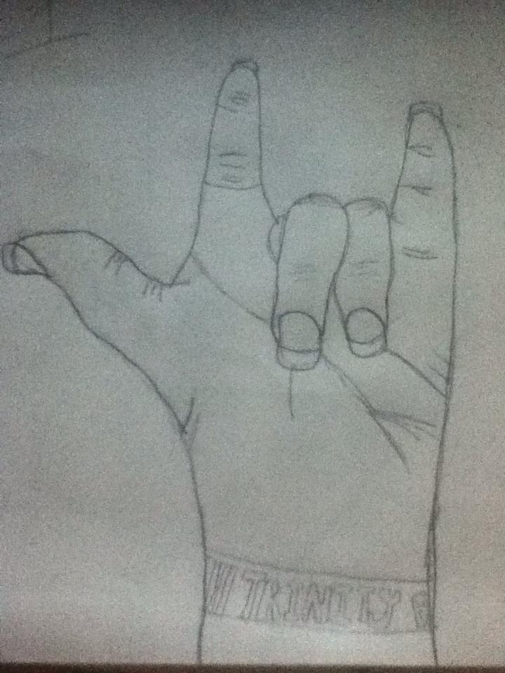 hand by DrawingIsPassion123