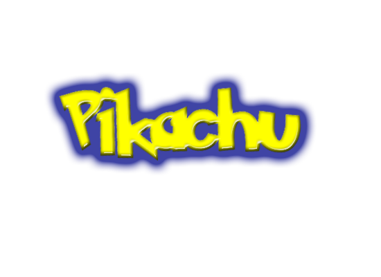 Pikachu Logo 330568687