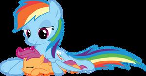 Rainbow Dash and Scootaloo