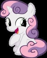 Sweetie Belle Giggles by IAmADinosaurRARRR