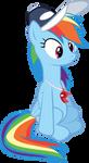 Trainer Rainbows Bland Expression