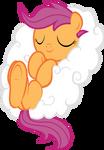 Scootaloo Asleep