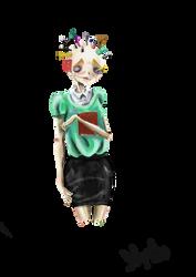 Pencilgirl by lelya-lo