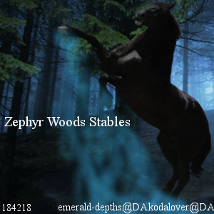 Zephyr Woods Stables by Lacrymosa597