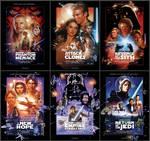 Star Wars Saga Poster Collection