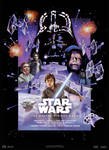 Star Wars V : Empire Strikes Back - Movie Poster