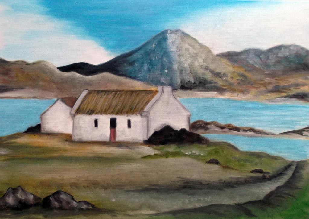 Irish Cottage By Nei1b