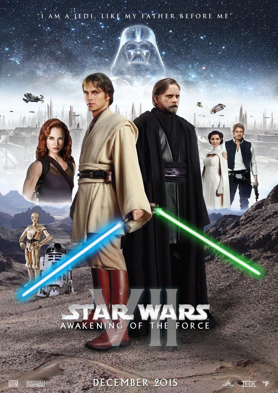 Star Wars Episode VII Teaser Poster by nei1b on DeviantArt