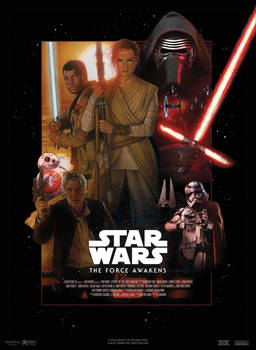 Star Wars VII : The Force Awakens - Movie Poster
