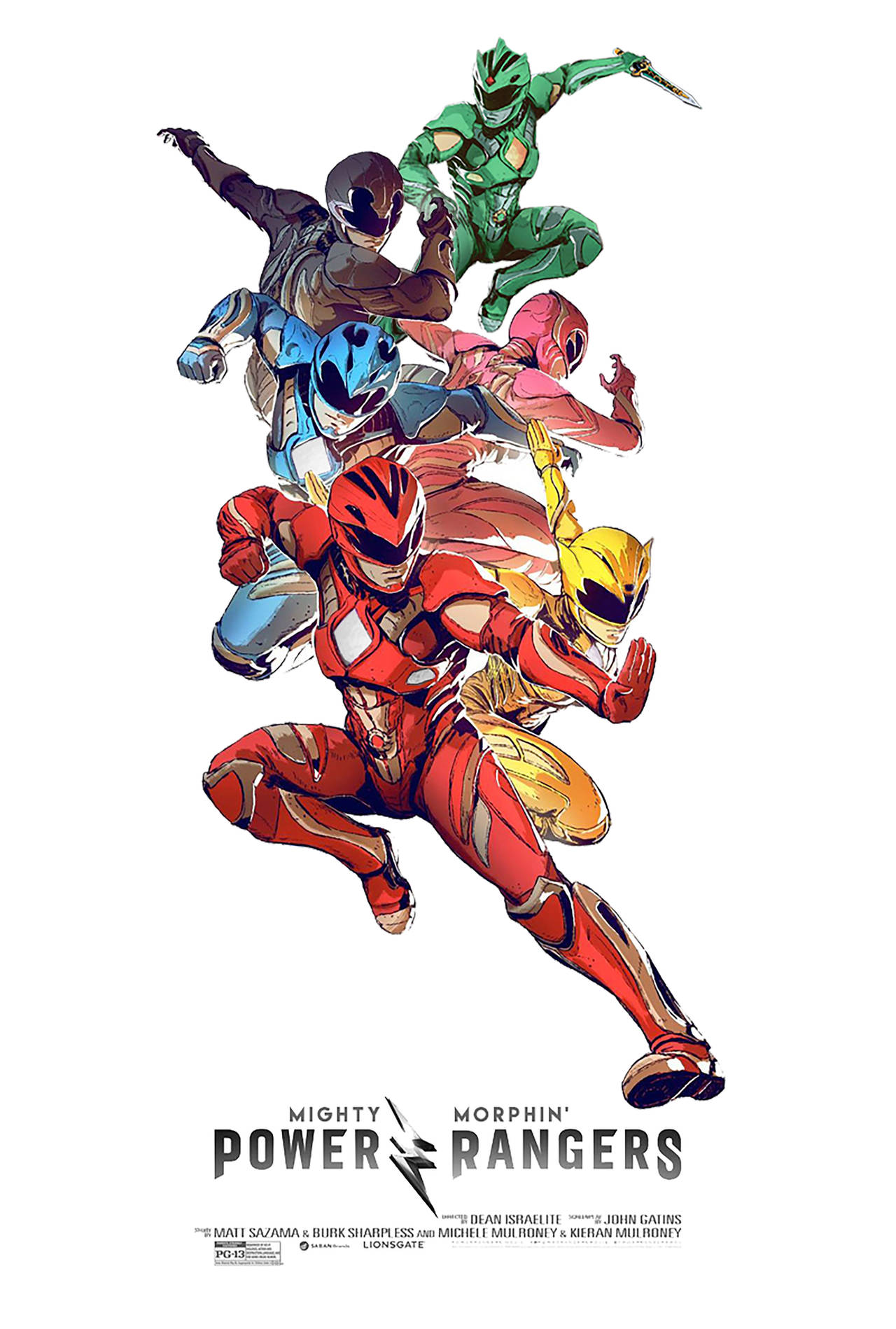 Power Rangers 2 Mighty Morphin Power Rangers By Nei1b On Deviantart