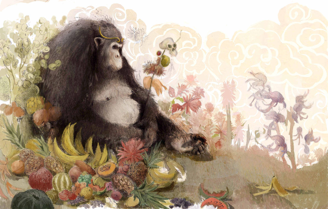 Monkey King by EstefaniaPantoja