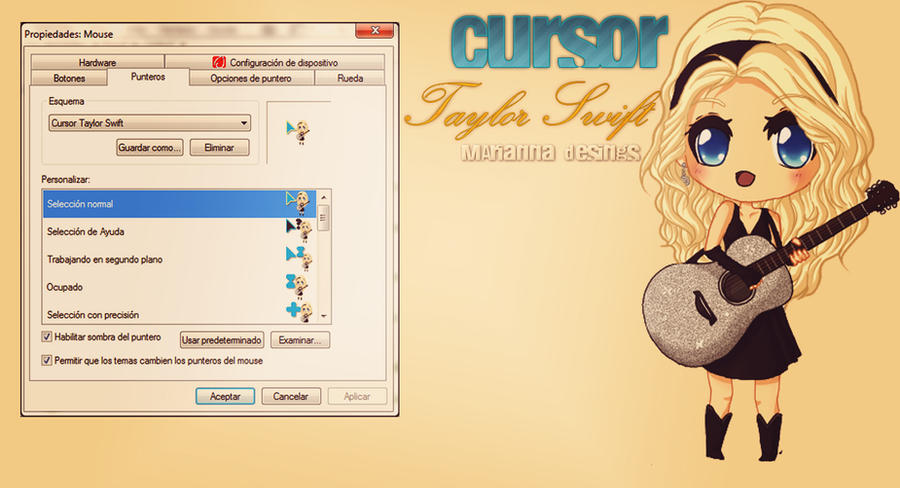+Cursor Taylor Swift by StaystronginTheLife